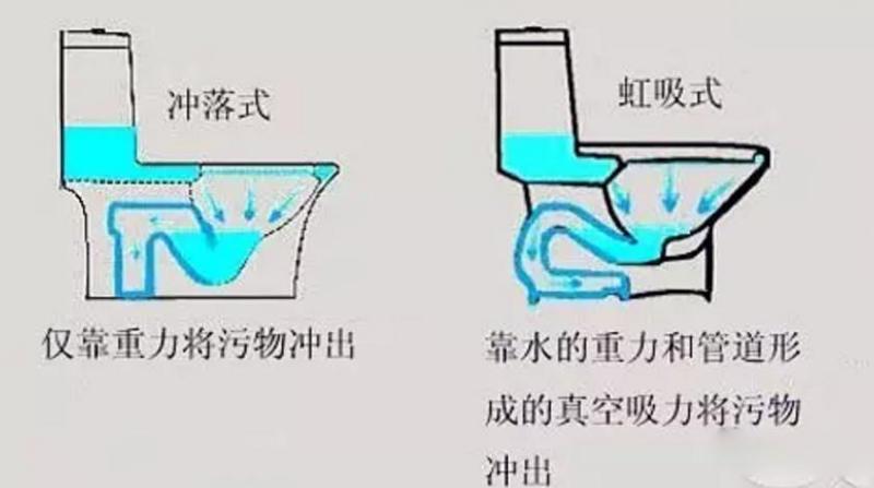 马桶结构图